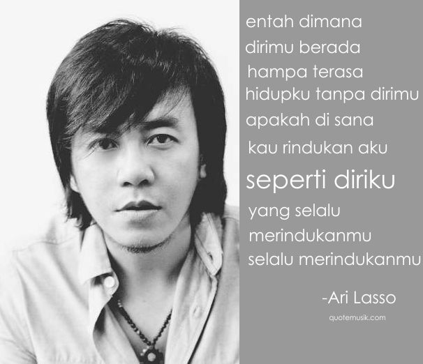 quote lagu hampa ari lasso