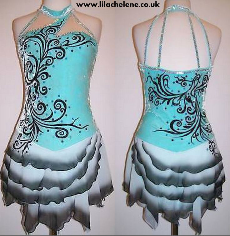 Ice Dance Figure Skating Dress/Baton Twirling Costume/Tap outfit/Majorettes in Sporting Goods, Ice Skating, Clothing | eBay!