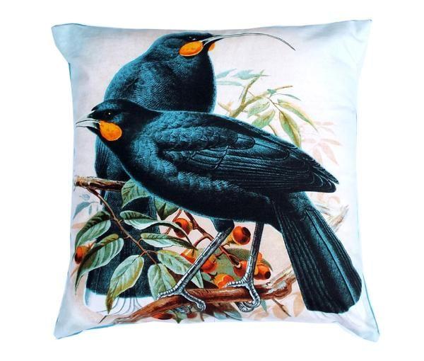 NZ+Huia+Bird+Cushion+Cover  http://www.shopenzed.com/nz-huia-bird-cushion-cover-xidp1200870.html
