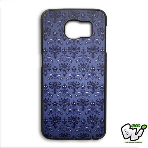 Haunted Mansion Pattern Samsung Galaxy S6 Edge Case