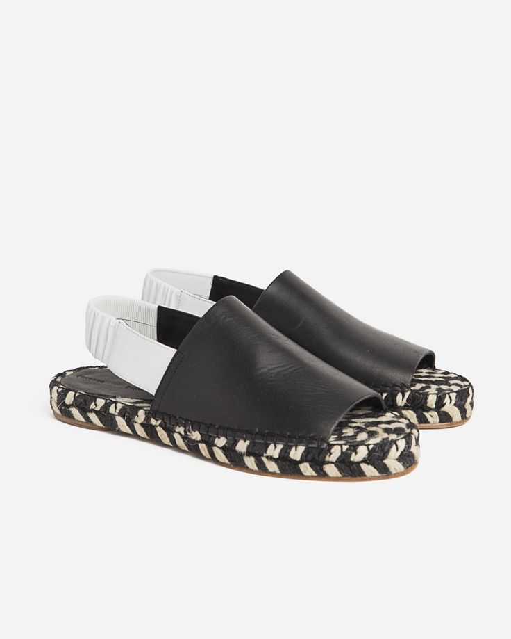 Proenza Schouler Leather Espadrille Sandal