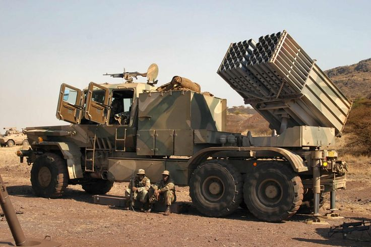BATELEUR 127 mm  Multiple Rocket Launch System (South Africa)