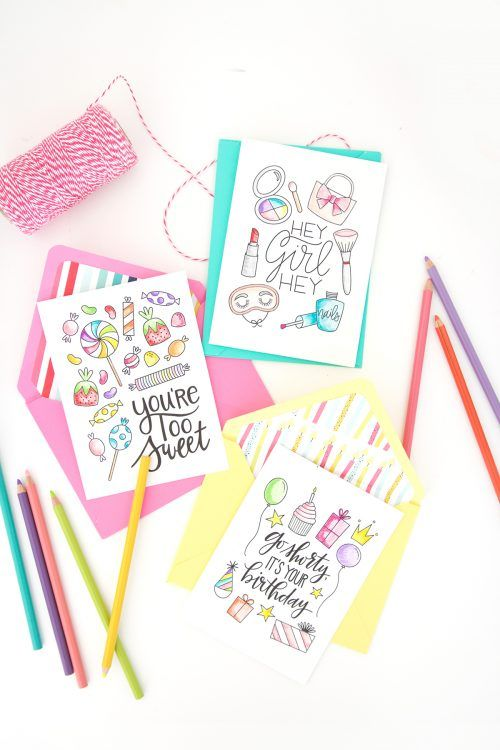 The coloring craze is here to stay. Enjoy coloring in a new way with this printable coloring greeting cards for every occasion