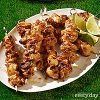 Margarita Chicken Skewers