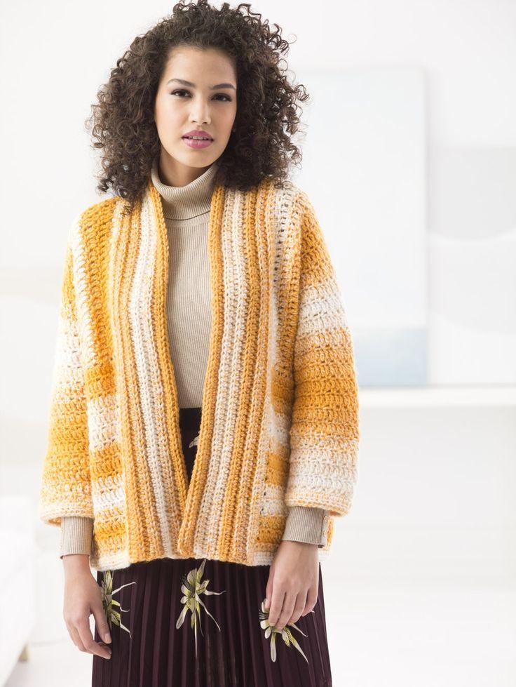 Sideways Cardigan (Crochet)