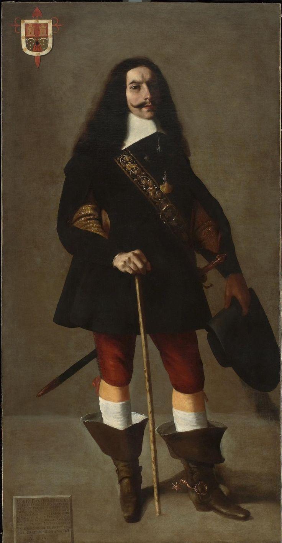 Francisco de Zurbarán Portrait of Don Juan Bazo de Moreda, ca. 1655