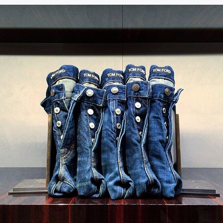 "TOM FORD, New York, ""Like bookends, we have learned to support The Blue Jean Line Up"", pinned by Ton van der Veer"