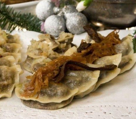 Pierogi z kapustą i grzybami - ekosklepkrainazdrowia.pl
