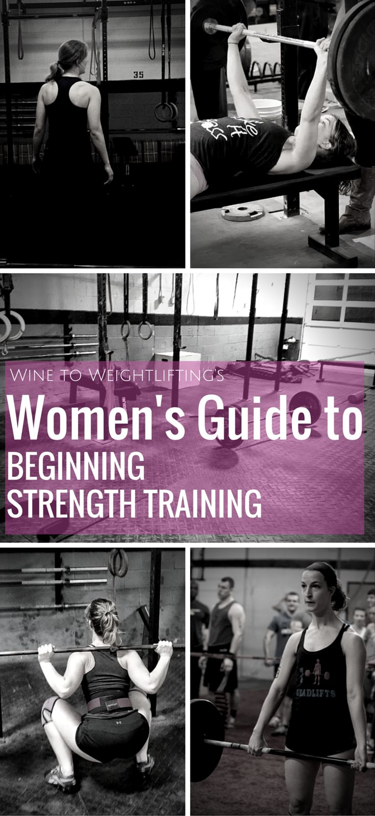Women's guide to beginning strength training. For any woman who wants to start weightlifting or weight training but isn't sure where to start, here are some helpful hints to get you going.