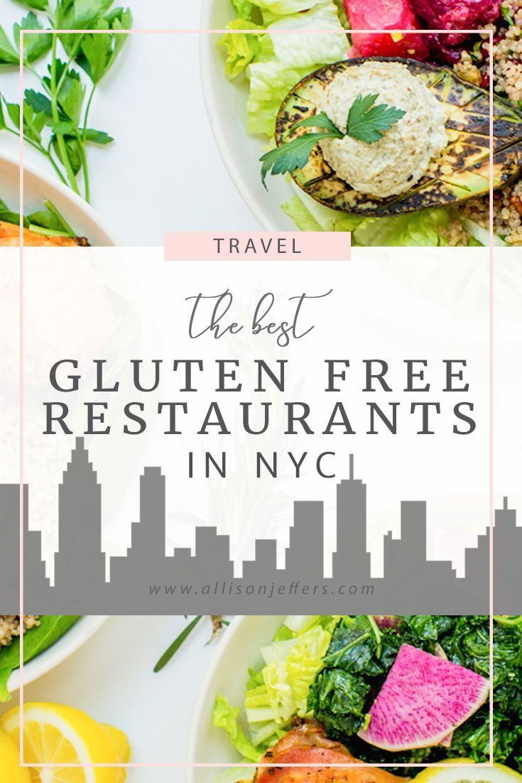 The best gluten free restaurants in NYC