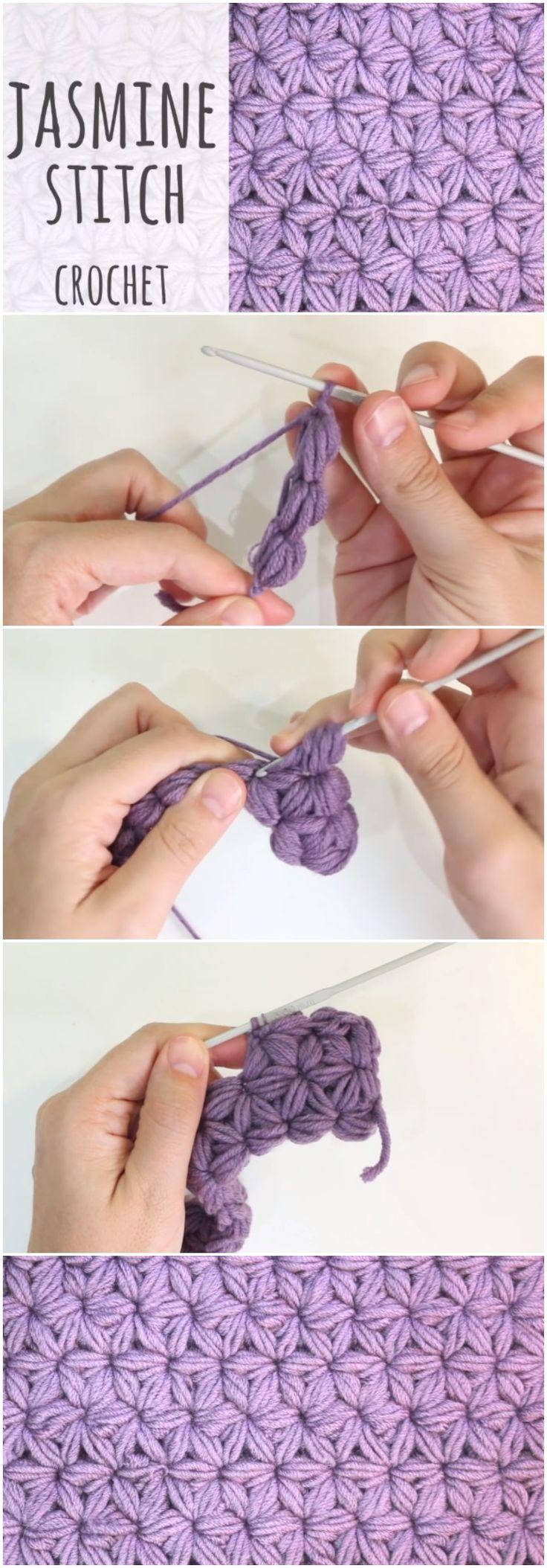 How To Crochet Jasmine Stitch