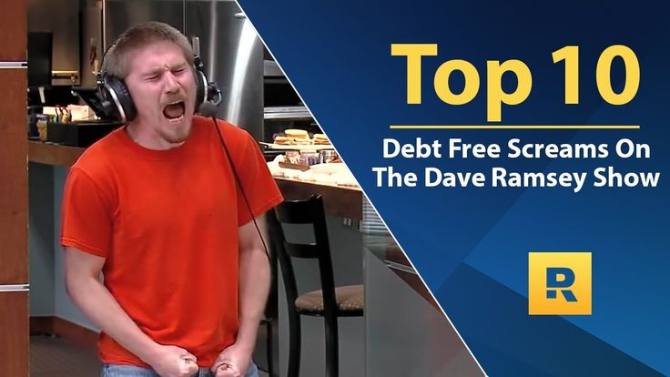 Top 🔟  - Debt Free Screams on The Dave Ramsey Show   Note: if you are not not tears on your face after the first one then you will by the next and so on WOW Dave WOW