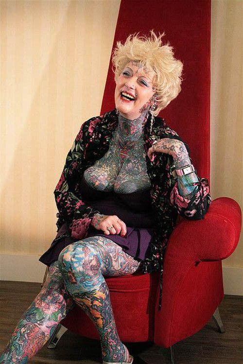 Most Tattooed Senior Isobel Varley - Inked Magazine