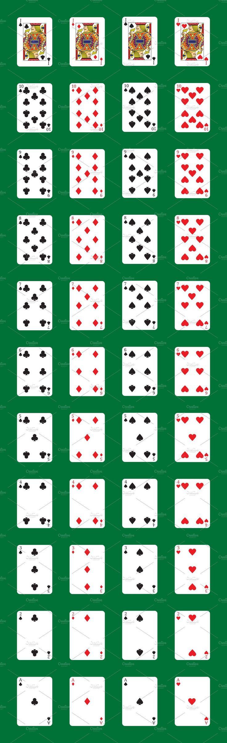 poker cardscreative stall on creativemarket  online