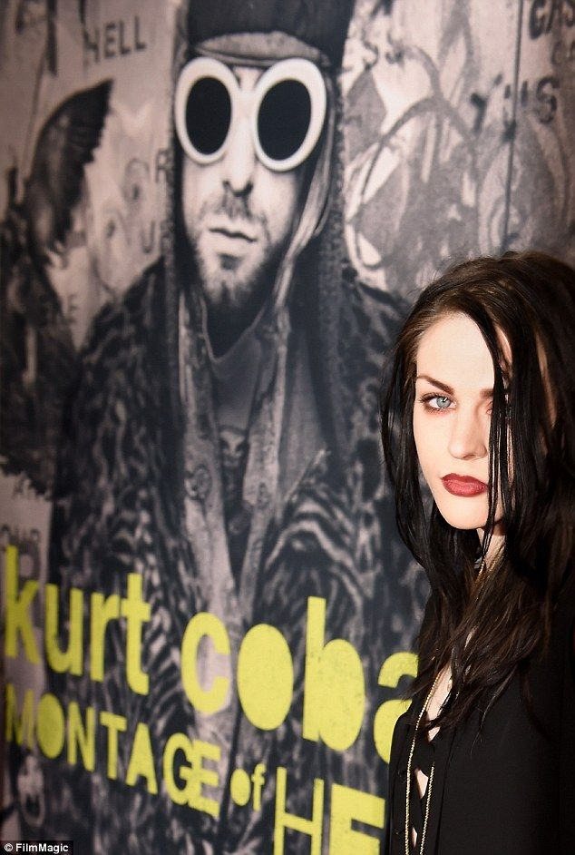 Tragic: Kurt Cobain killed himself in 1994 when Frances was just 20 months old