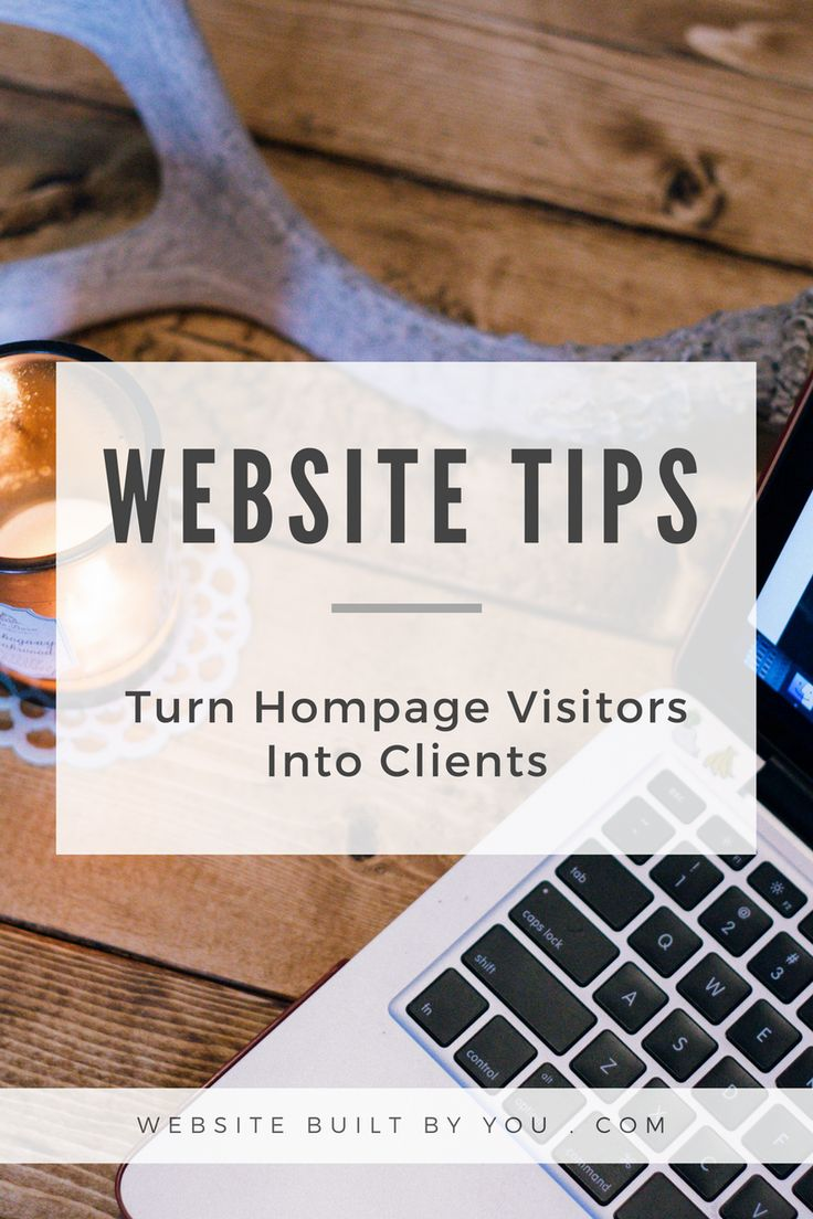 Learn the techniques to keep visitors on your homepage and turn them into paying clients. Make use of menus and call to action buttons to create a great homepage for your business.
