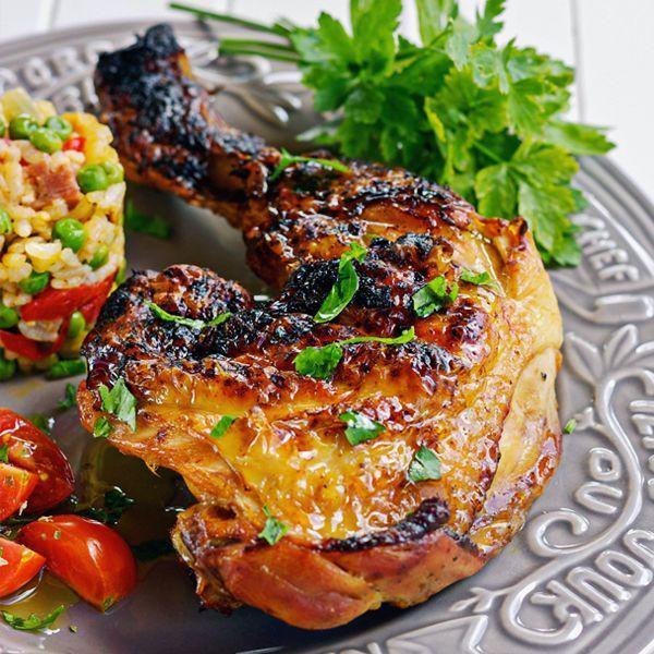 This Filipino BBQ Chicken is a great way to use chicken thighs and drumsticks! #bbqchicken #filipinorecipes