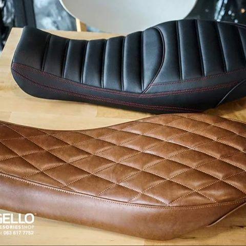 2 New Line-up Models  Custom Slim Seat DUCATI SCRAMBLER (800&400)  Detail is coming soon !! MUGELLO (MOTO ACCESSORIES SHOP)  facebook : MUGELLO Email : mugelloshopthai@gmail.com  #scrambler #scramblerducati #ducatiscrambler #ducatiscramblericon #scamblericon #customscrambler #mugelloshopthai #ducati #scramblerfullthrottle #ducatistagram #bike #bikeseat