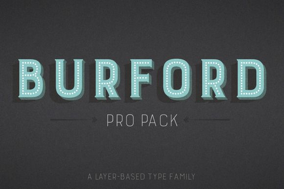 Burford Pro Pack by Kimmy Design on @creativemarket