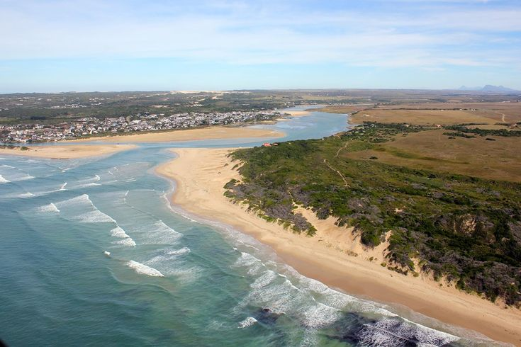 Krom River mouth in St. Francis Bay...