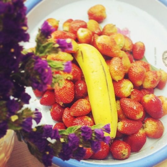 Violet, red and yellow :) Nutrious, beautiful and tasty :)