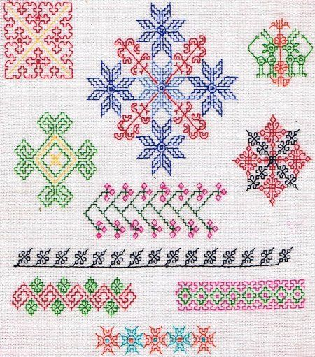 17 Best Images About Needlework Kasuti On Pinterest | Traditional Hand Embroidery And Ethnic