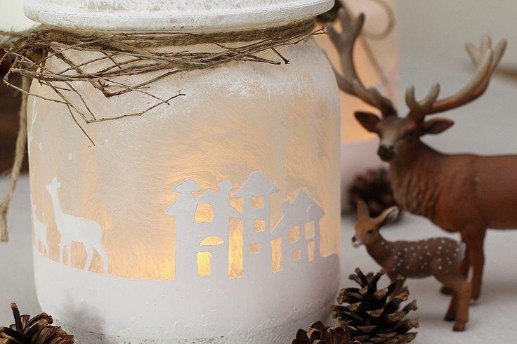 Ute's Scrapblog: Winter-Weckglas