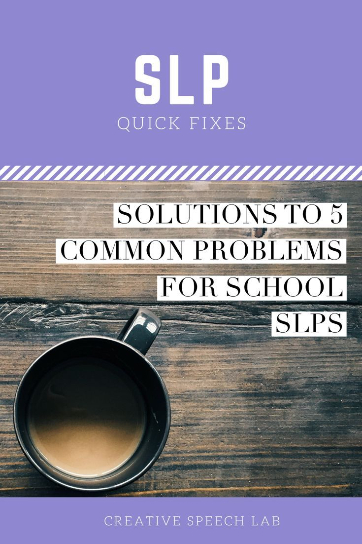 From caseload organization to speech room necessities, discover creative solutions to 5 common problems faced by school SLPs. #5 is a favorite!