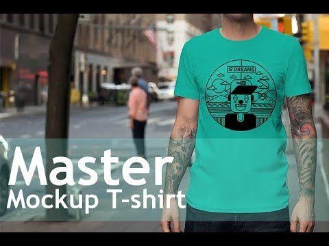 How to create master mockup t-shirt  #mockup #mockuptemplates #tutorial #tshirt #design #s7dreams