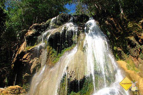 Cachoeira da Anta. Trilha da Boca da Onça, Serra da Bodoquena, MS. Imagem: Erik Pzado