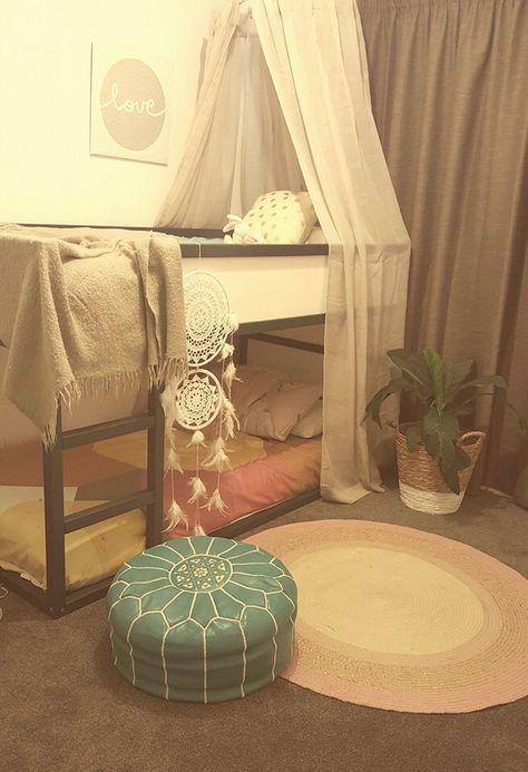 IKEA bunk bed hack                                                                                                                                                      More