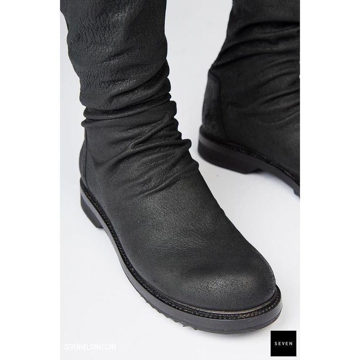Creepers  sock sneaks =  #rickowens #aw17 #glitter @ sevenhelsinki.com