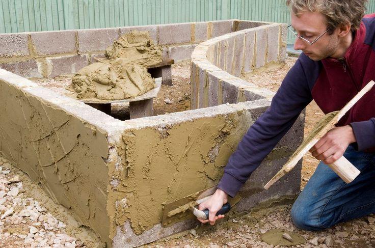 Enlarge slide 7 Build a raised bed: Rendering blocks