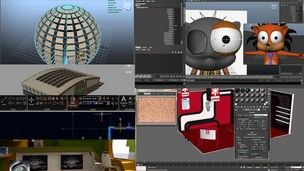 Kurs AutoCAD, 3ds max, Maya, Inventor, Blender oraz Rhino 3D. Praktyczne modelowanie i animacje 3D dla każdego.