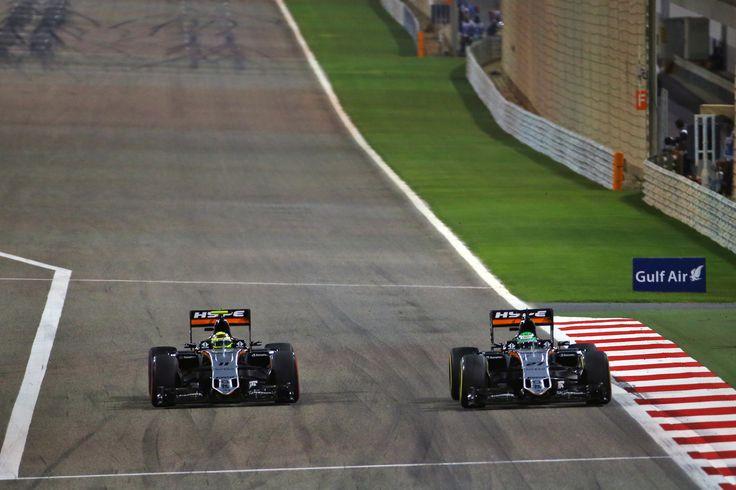 Teamwork on the tracks #Formula1 #BahrainGP #GrandPrix #MFP #MFPClub #HypeEnergyDrinks #HypeEnergy #HypeLifeStyle #HypeMFP #SergioPerez #NicoHulkenberg