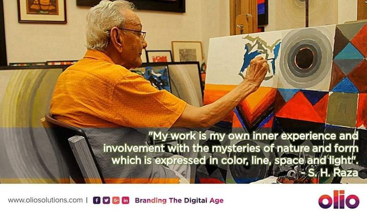 RIP #SHRaza, who depicted concepts like #bindu, #purush_prakriti and #nari in his geometric abstract works The 'Bindu' and beyond It's pristinely perfect geometry, the delicate and precise alignment of planes and pivots, the calculated nuances of shade, tint and colour; the magnetic blackness of the #bindu. #PadmaShri #FellowshipoftheLalitKalaAkademi #PadmaBhushan  #PadmaVibhushan #legend #Saurashtra
