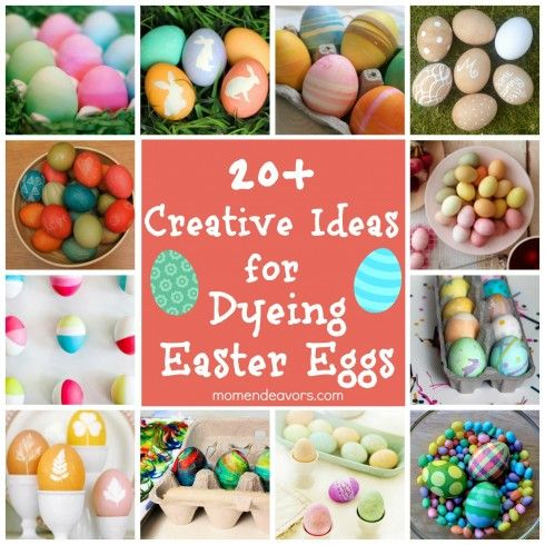 20 Ideas for Dyeing Easter Eggs - Swanky Decors