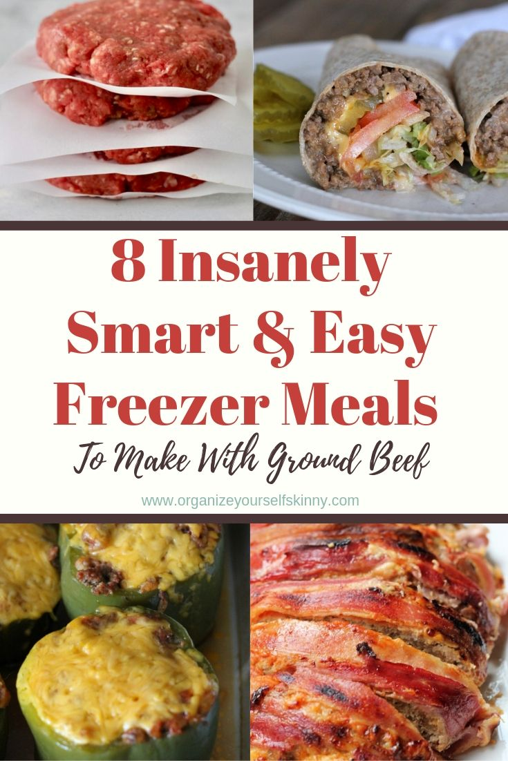Freezer Meals To Make With Ground Beef Freezable Meals Meals To Make With Ground Beef Freezer Friendly Meals