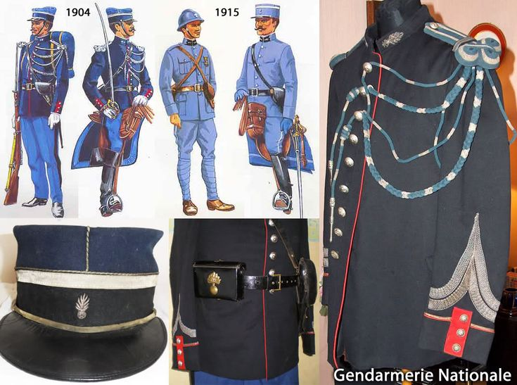 Gendarmes' Uniforms WW1