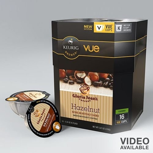 Keurig Gloria Jean's Coffee Hazelnut Vue Pack « MyStoreHome.com – Stay At Home and Shop