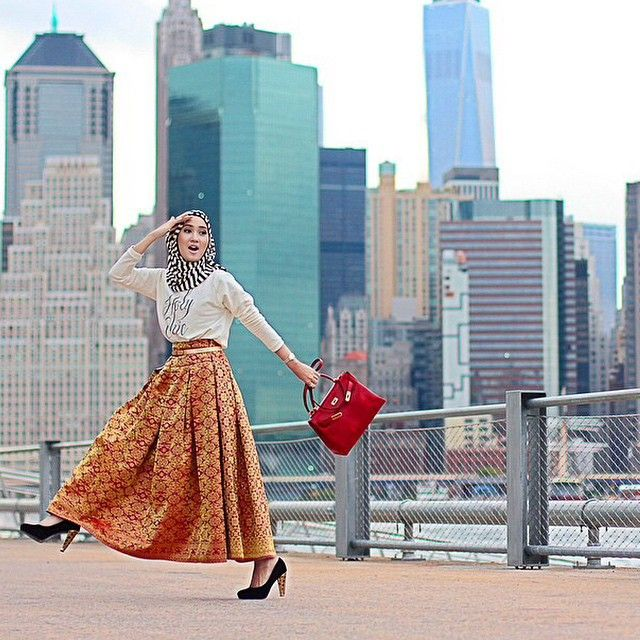 Brooklyn | Dian Pelangi | #Hijab #hijabifashion | https://www.facebook.com/hijabibrides