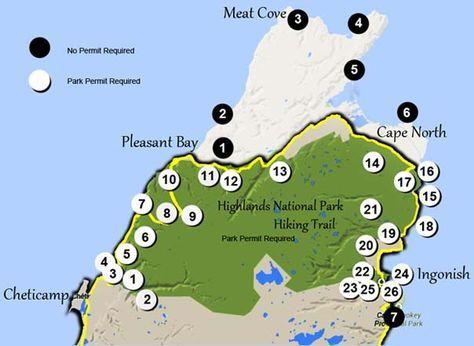 Cape Breton hiking trails, Hike the Highlands,The Skyline Trail, Pollett's Cove trail, the Cabot Trail Cape Breton Nova Scotia