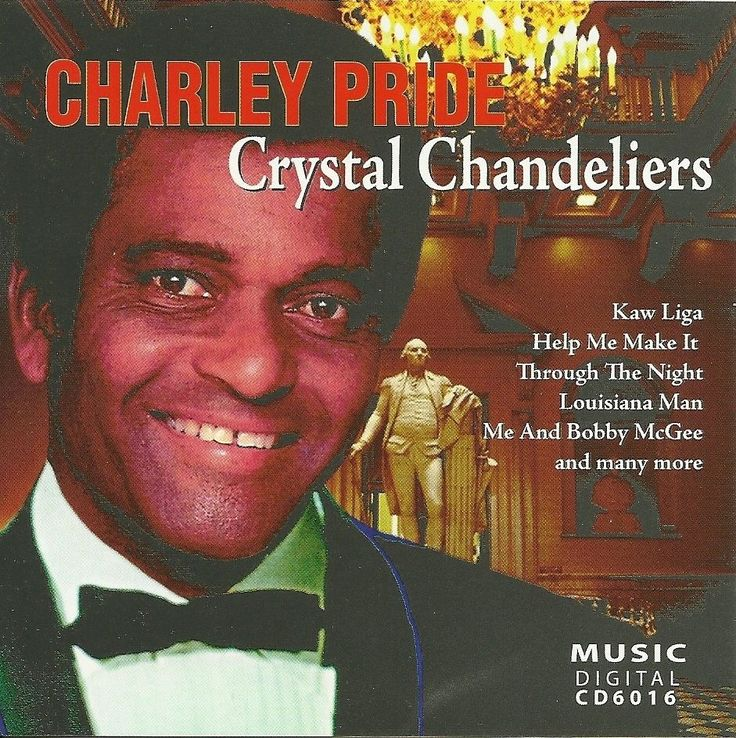 Charley Pride Cd Crystal Chandeliers Live Concert Performances