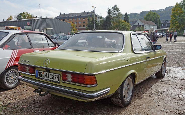 Alle Größen   Mercedes 230 CE (C123, 1980-85, 29.858 built) - Farbe: Mimosengelb (#618, Mimosa Yellow)   Flickr - Fotosharing!