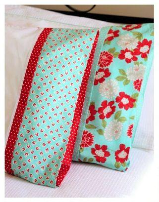 Pillow Cases Make a Pretty Pillowcase Pillowcase Pattern // Easiest Way to Sew a Pillowcase How to Make Pillow