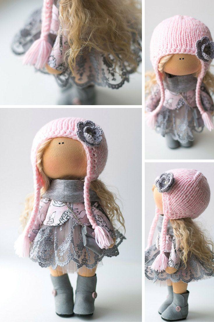 Baby doll tilda doll Art doll handmade blonde by AnnKirillartPlace