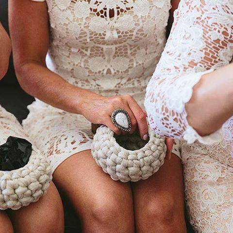 корзинки для подружек невесты