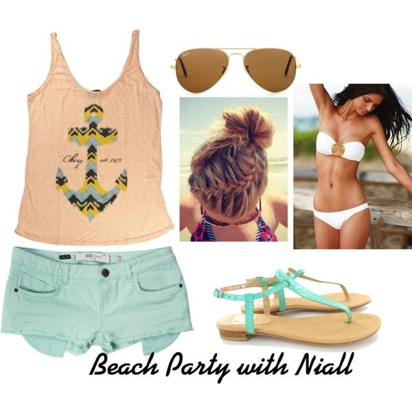 Beach Party With Niall One Direction Outfits Fashion One