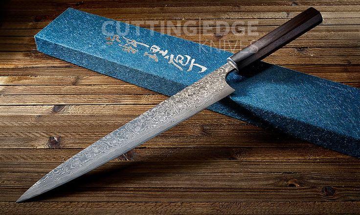 "Masakage Kumo Sujihiki (10"" / 270mm)  from Cutting Edge Knives  #Japanese #Cooking #Knife #Carving #Sujihiki"