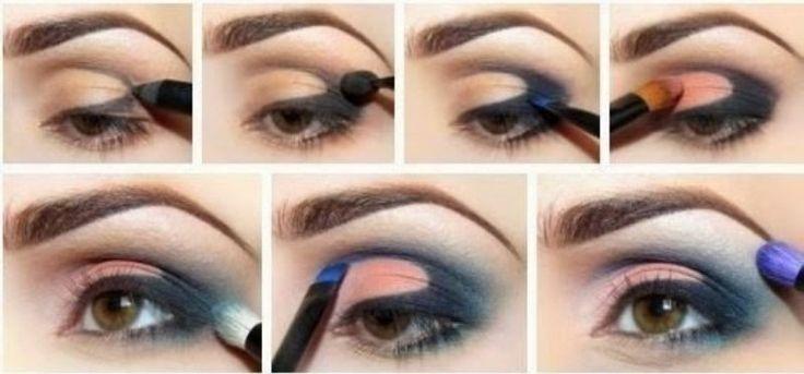 cool Потрясающий макияж для голубых глаз (50 фото) — Рекомендации визажистов